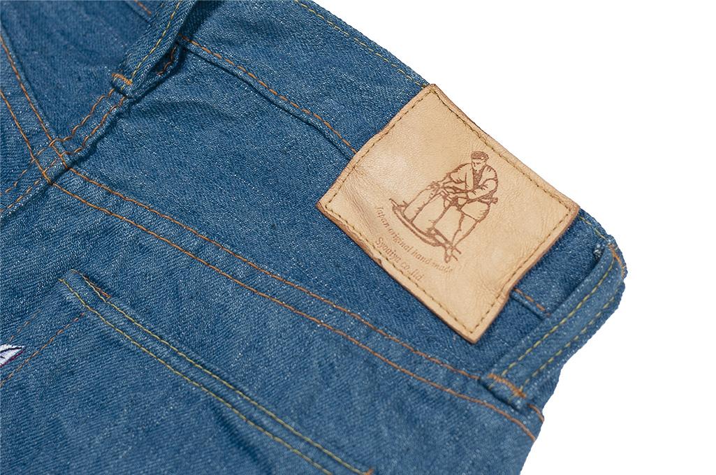 Pure Blue Japan BG-019 Blue Gray Denim Jeans - Straight Tapered - Image 14