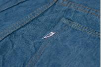 Pure Blue Japan BG-019 Blue Gray Denim Jeans - Straight Tapered - Image 15