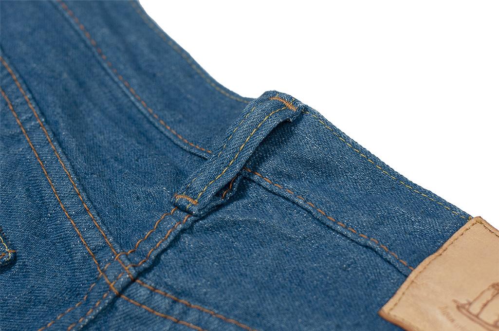Pure Blue Japan BG-019 Blue Gray Denim Jeans - Straight Tapered - Image 16