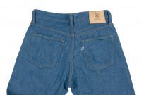 Pure Blue Japan BG-019 Blue Gray Denim Jeans - Straight Tapered - Image 17