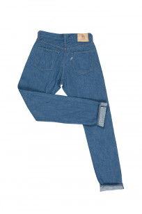 Pure Blue Japan BG-019 Blue Gray Denim Jeans - Straight Tapered - Image 18