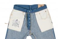 Pure Blue Japan BG-019 Blue Gray Denim Jeans - Straight Tapered - Image 19