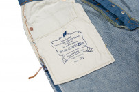Pure Blue Japan BG-019 Blue Gray Denim Jeans - Straight Tapered - Image 20