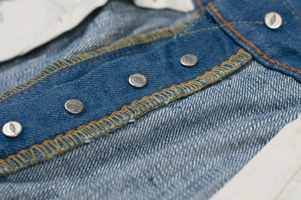 Pure Blue Japan BG-019 Blue Gray Denim Jeans - Straight Tapered - Image 21