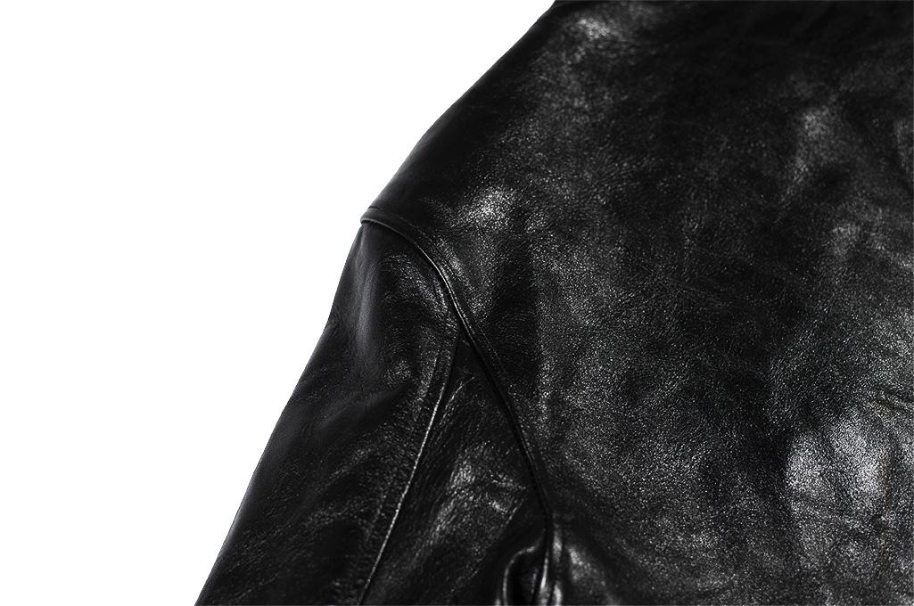 Fine Creek Horsehide Jacket - Ryan / Black - Image 15