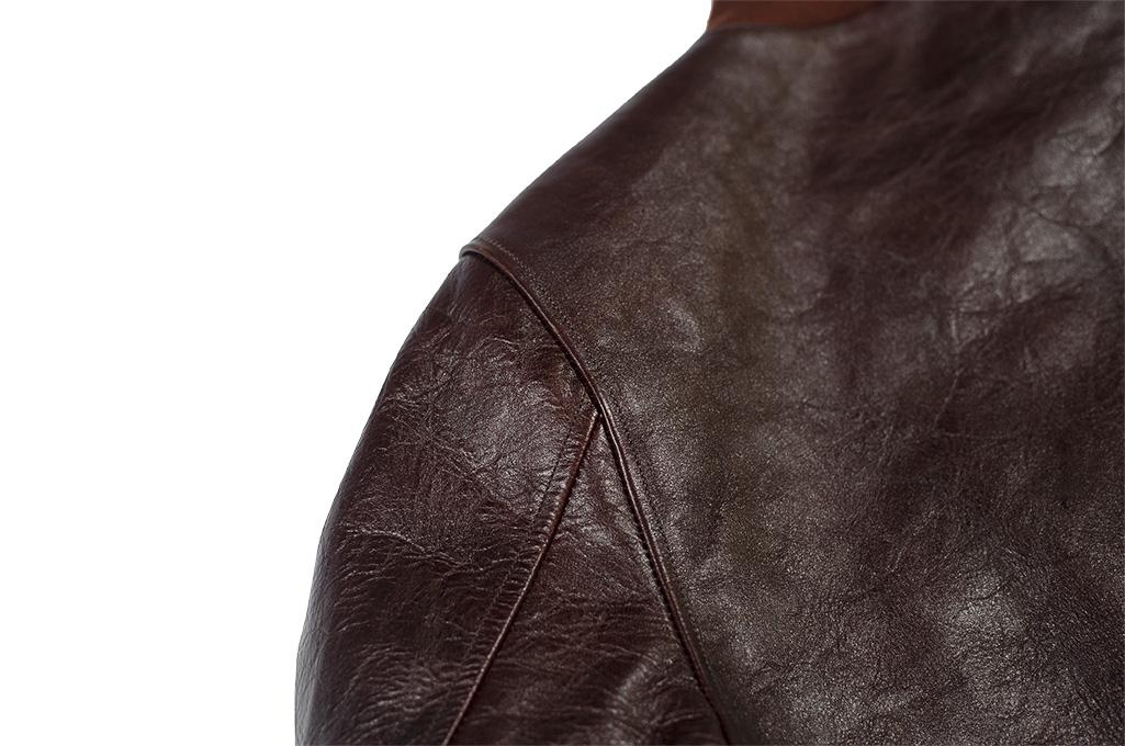 Fine Creek Horsehide Jacket - Ryan / Brown - Image 15