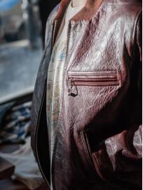 Fine Creek Horsehide Jacket - Ryan / Brown - Image 16