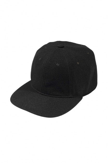 Poten Japanese Made Cap - Birdseye Black