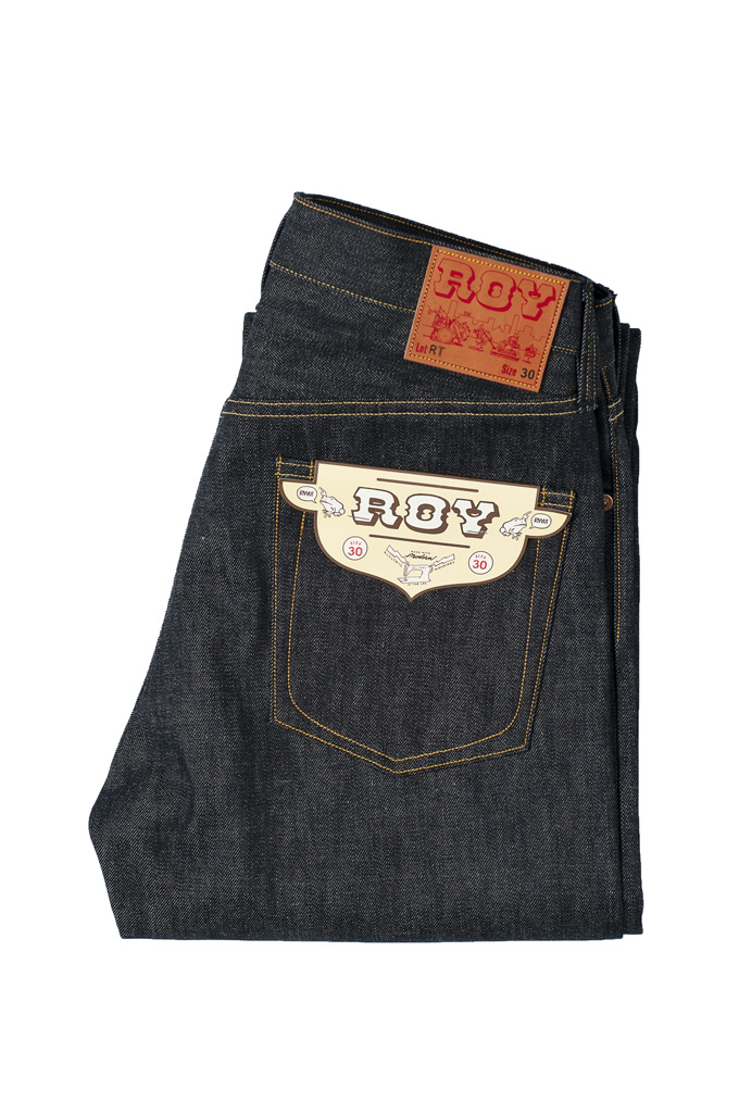 Roy RT Jeans - Slim Tapered Fit - XX Experimental Denim - Image 0
