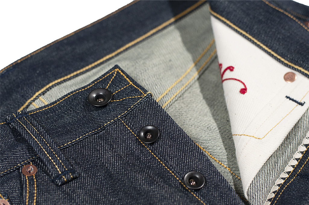 Roy RT Jeans - Slim Tapered Fit - XX Experimental Denim - Image 7