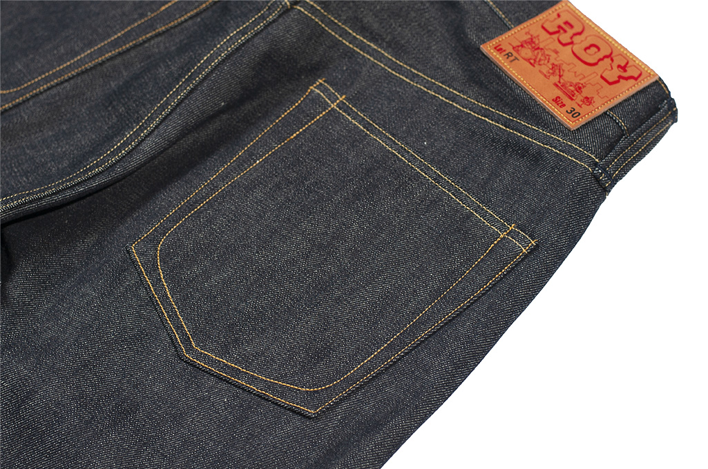 Roy RT Jeans - Slim Tapered Fit - XX Experimental Denim - Image 10