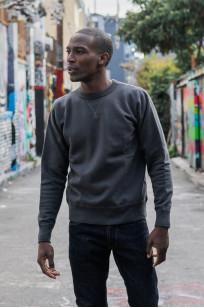 Buzz Rickson Flatlock Seam Crewneck Sweater - Black - Image 2