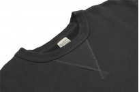 Buzz Rickson Flatlock Seam Crewneck Sweater - Black - Image 6