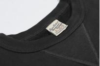 Buzz Rickson Flatlock Seam Crewneck Sweater - Black - Image 8