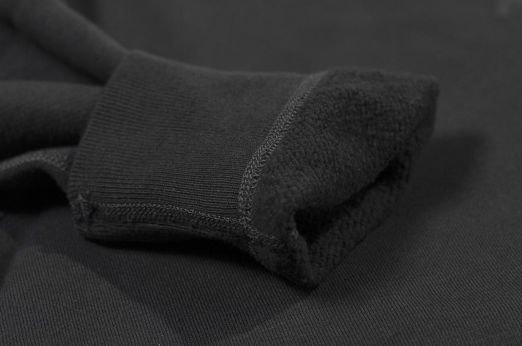 Buzz Rickson Flatlock Seam Crewneck Sweater - Black - Image 10