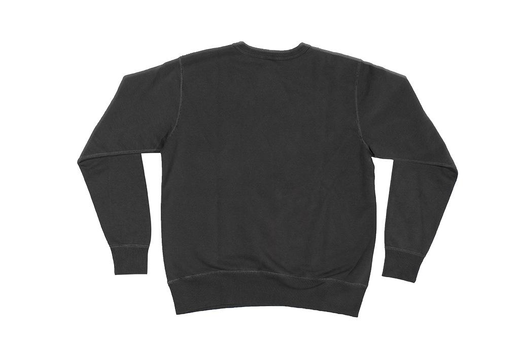 Buzz Rickson Flatlock Seam Crewneck Sweater - Black - Image 11