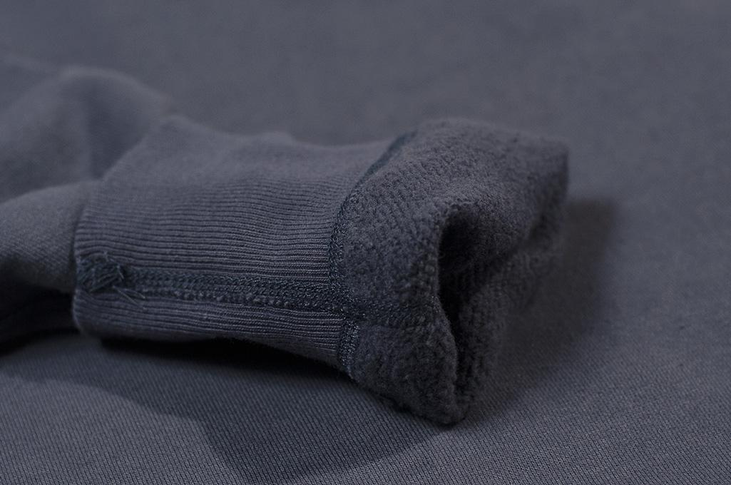 Buzz Rickson Flatlock Seam Crewneck Sweater - Navy - Image 10