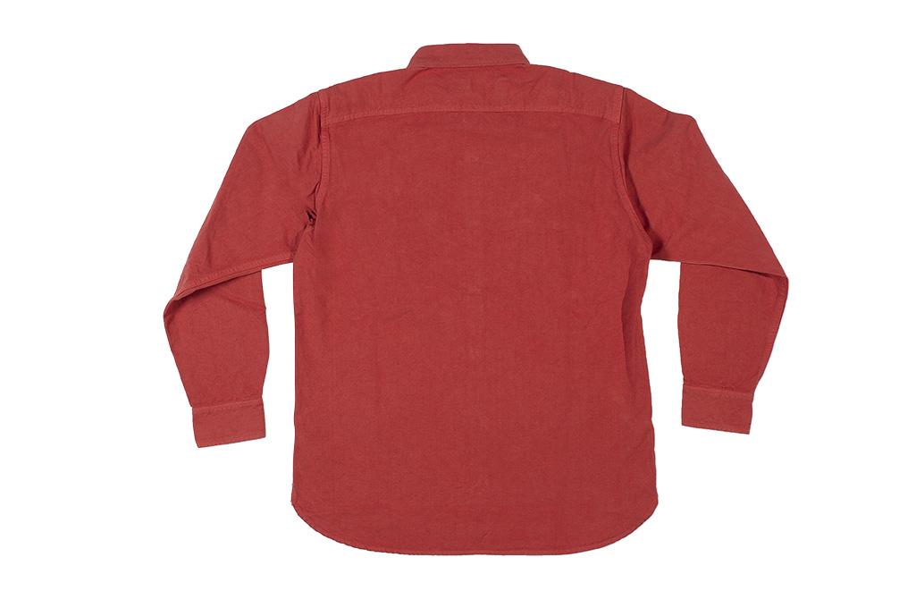 Seuvas 79A Canvas Workshirt - Natty Red Wine - Image 13
