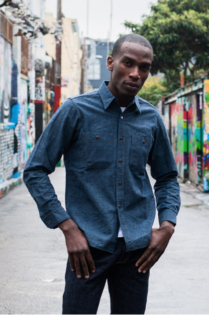 Seuvas Workshirt - Original Indigo Selvedge Chambray