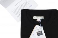 Merz B. Schwanen Loopwheeled T-Shirt - Sea Island Cotton Black - Image 2