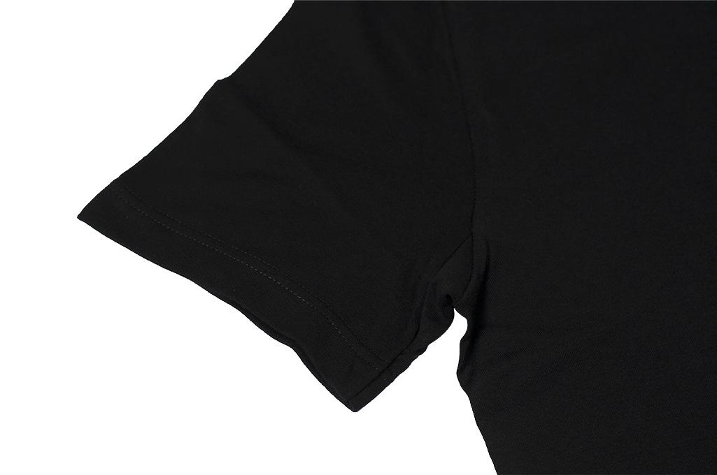 Merz B. Schwanen Loopwheeled T-Shirt - Sea Island Cotton Black - Image 5