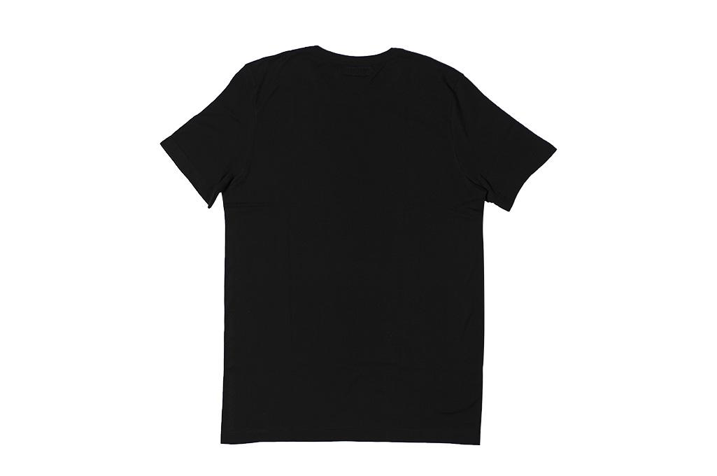 Merz B. Schwanen Loopwheeled T-Shirt - Sea Island Cotton Black - Image 8