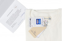 Merz B. Schwanen Loopwheeled T-Shirt - Sea Island Cotton White - Image 2
