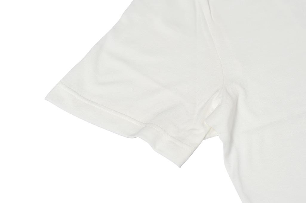 Merz B. Schwanen Loopwheeled T-Shirt - Sea Island Cotton White - Image 5