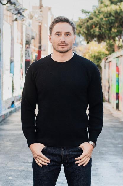 Stevenson Absolutely Amazing Merino Wool Thermal Shirt - Black