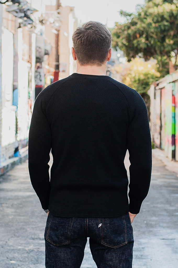 Stevenson Absolutely Amazing Merino Wool Thermal Shirt - Black - Image 2
