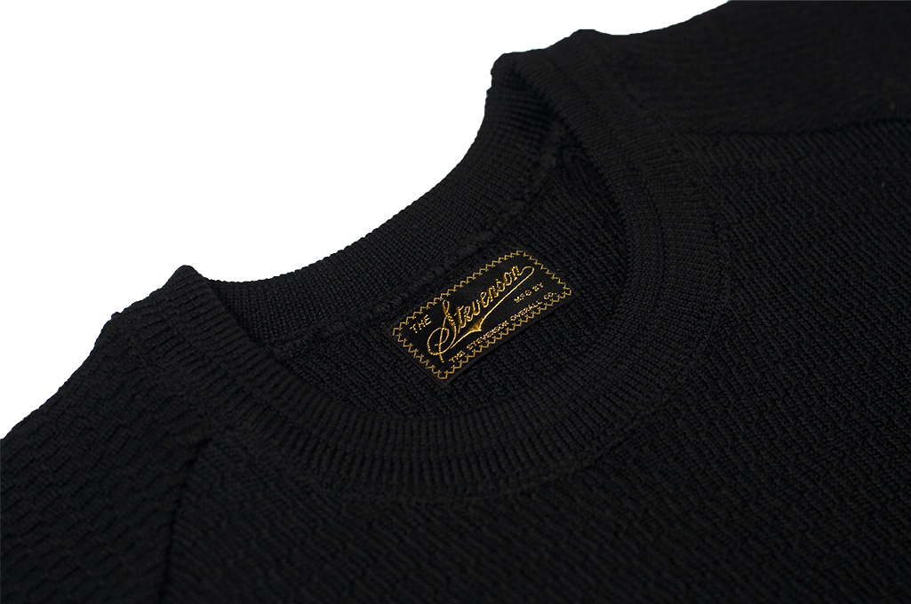 Stevenson Absolutely Amazing Merino Wool Thermal Shirt - Black - Image 5