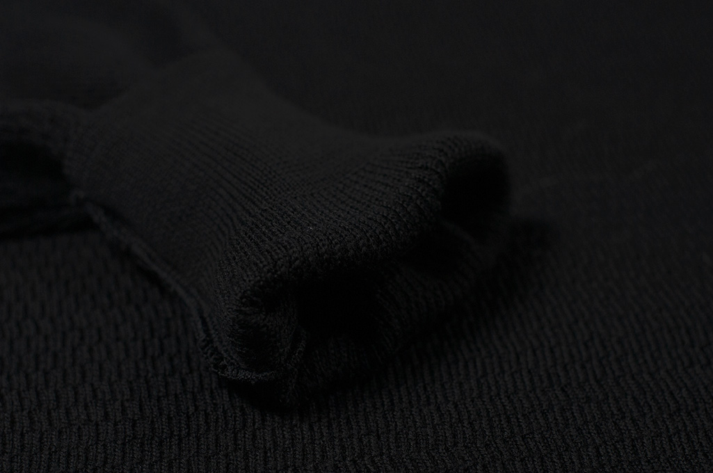 Stevenson Absolutely Amazing Merino Wool Thermal Shirt - Black - Image 8
