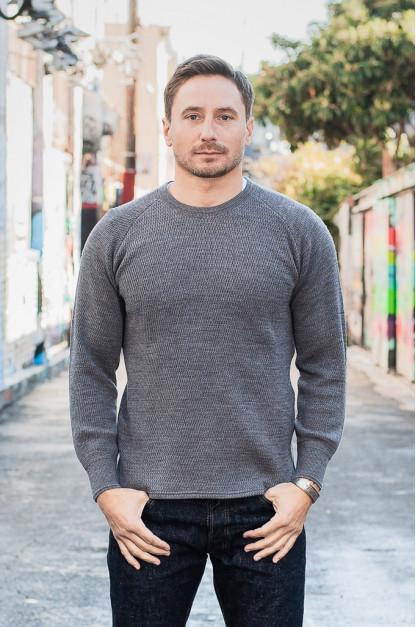 Stevenson Absolutely Amazing Merino Wool Thermal Shirt - Dark Gray