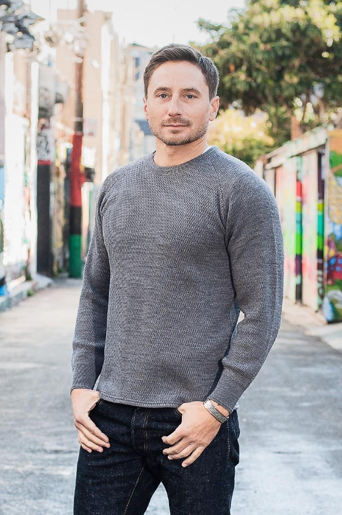 Stevenson Absolutely Amazing Merino Wool Thermal Shirt - Dark Gray - Image 1