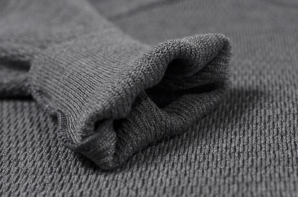 Stevenson Absolutely Amazing Merino Wool Thermal Shirt - Dark Gray - Image 6