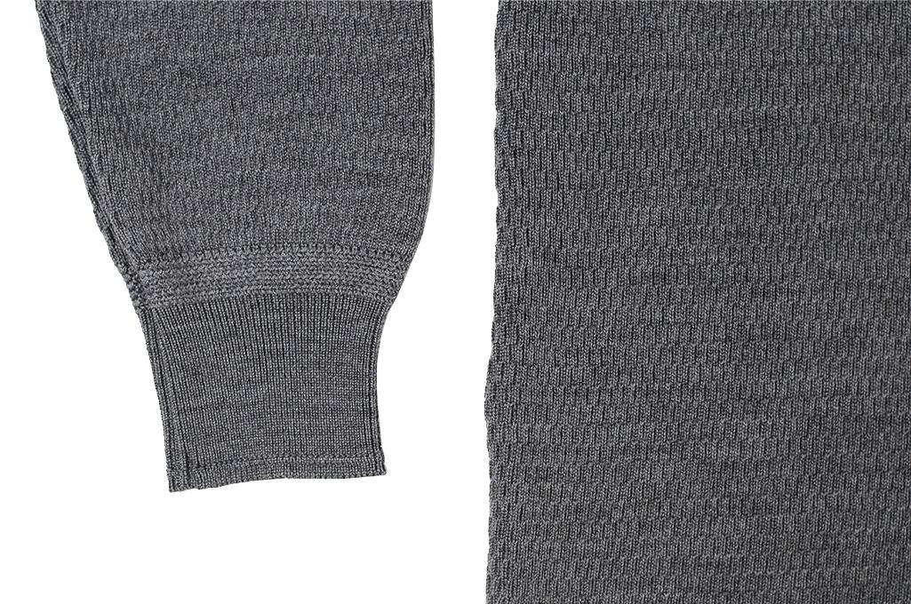 Stevenson Absolutely Amazing Merino Wool Thermal Shirt - Dark Gray - Image 7