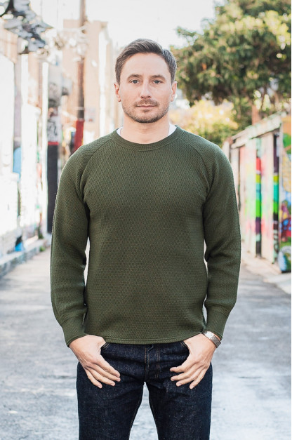 Stevenson Absolutely Amazing Merino Wool Thermal Shirt - Forest Green