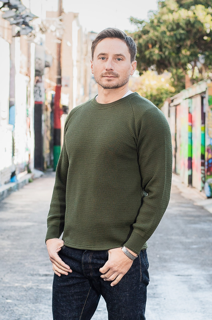 Stevenson Absolutely Amazing Merino Wool Thermal Shirt - Forest Green - Image 1