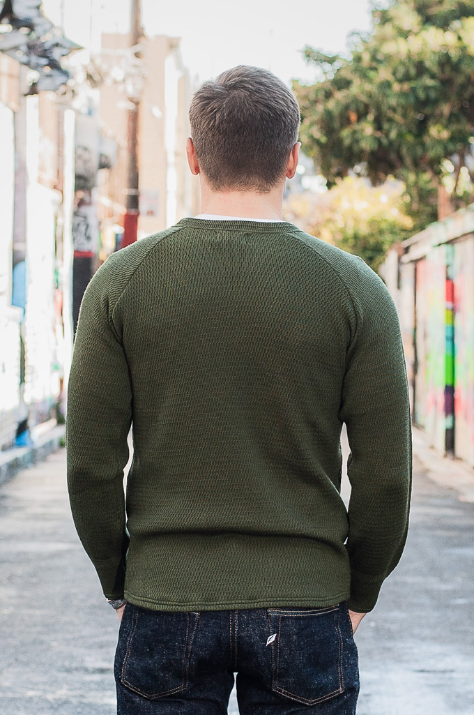 Stevenson Absolutely Amazing Merino Wool Thermal Shirt - Forest Green - Image 2