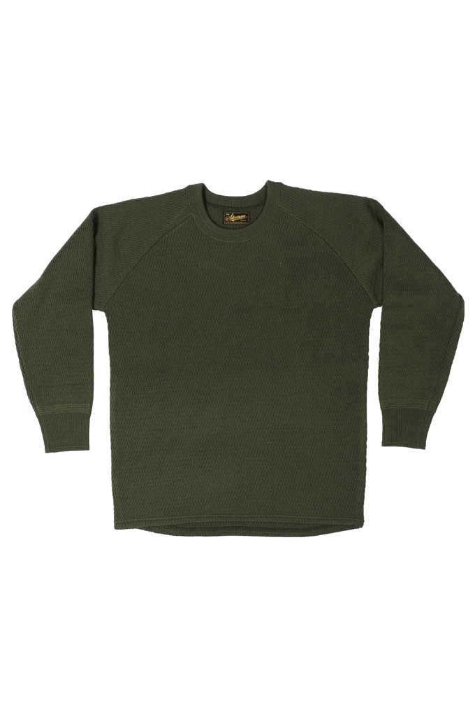 Stevenson Absolutely Amazing Merino Wool Thermal Shirt - Forest Green - Image 3
