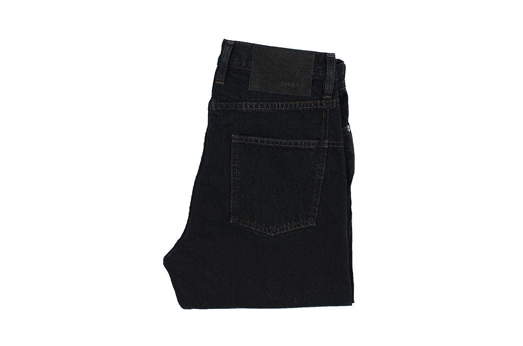3sixteen Suffused Collection / OD-100x Overdyed Narrow Tapered Jeans - Aphotic Anthracite - Image 4
