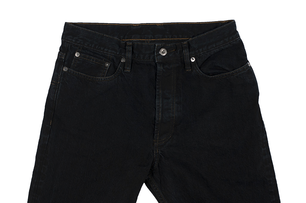 3sixteen Suffused Collection / OD-100x Overdyed Narrow Tapered Jeans - Aphotic Anthracite - Image 5