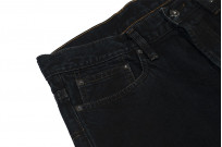 3sixteen Suffused Collection / OD-100x Overdyed Narrow Tapered Jeans - Aphotic Anthracite - Image 6