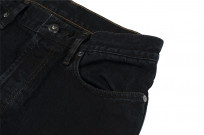 3sixteen Suffused Collection / OD-100x Overdyed Narrow Tapered Jeans - Aphotic Anthracite - Image 7