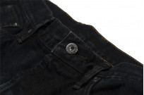 3sixteen Suffused Collection / OD-100x Overdyed Narrow Tapered Jeans - Aphotic Anthracite - Image 8