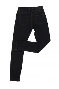 3sixteen Suffused Collection / OD-100x Overdyed Narrow Tapered Jeans - Aphotic Anthracite - Image 10