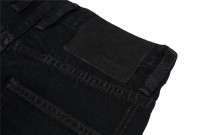 3sixteen Suffused Collection / OD-100x Overdyed Narrow Tapered Jeans - Aphotic Anthracite - Image 12