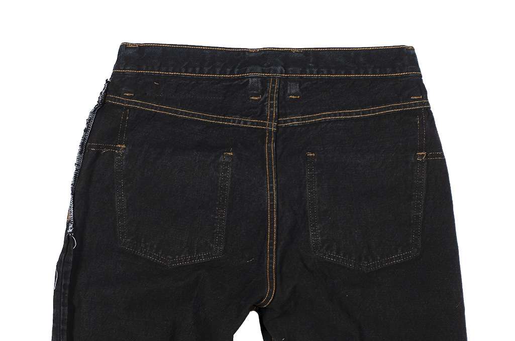 3sixteen Suffused Collection / OD-100x Overdyed Narrow Tapered Jeans - Aphotic Anthracite - Image 15