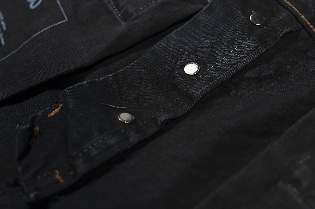 3sixteen Suffused Collection / OD-100x Overdyed Narrow Tapered Jeans - Aphotic Anthracite - Image 17