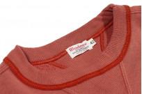 Warehouse Loopwheeled Set-In Freedom Crewneck Sweater - Salmon - Image 4